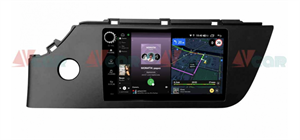 Штатная магнитола VAYCAR 09V4R для KIA Rio IV 2020+ на Android 10.0