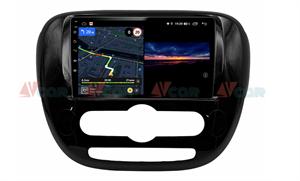 Штатная магнитола VAYCAR 09V3 для KIA Soul II 2013-2019 на Android 10.0