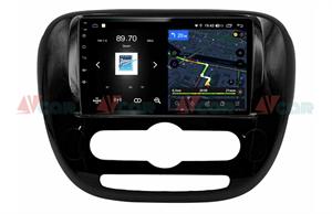 Штатная магнитола VAYCAR 09V4 для KIA Soul II 2013-2019 на Android 10.0
