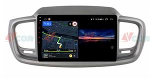 Штатная магнитола VAYCAR 10V3 для Kia Sorento III Prime 2015-2020 на Android 10.0