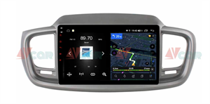 Штатная магнитола VAYCAR 10V4 для Kia Sorento III Prime 2015-2020 на Android 10.0
