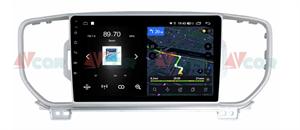 Штатная магнитола VAYCAR 09V4 для KIA Sportage IV 2016-2018 на Android 10.0