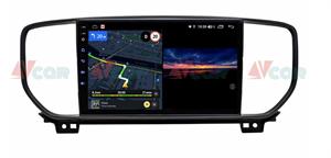 Штатная магнитола VAYCAR 09V3 для KIA Sportage IV 2018-2020 на Android 10.0