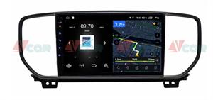 Штатная магнитола VAYCAR 09V4 для KIA Sportage IV 2018-2020 на Android 10.0