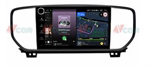 Штатная магнитола VAYCAR 09V4R для KIA Sportage IV 2018-2020 на Android 10.0