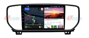Штатная магнитола VAYCAR 09V6 для KIA Sportage IV 2018-2020 на Android 10.0