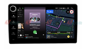 Штатная магнитола VAYCAR 09V4R для Lada Granta I 2011-2019 на Android 10.0