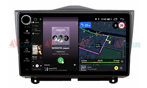 Штатная магнитола VAYCAR 09V4R для LADA Granta 2018-2020 на Android 10.0