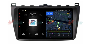 Штатная магнитола VAYCAR 09V4 для Mazda 6 2007-2012 на Android 10.0