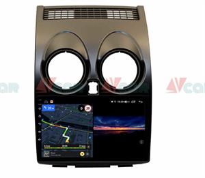Штатная магнитола VAYCAR 09V3 для Nissan Qashqai I 2007-2013 на Android 10.0