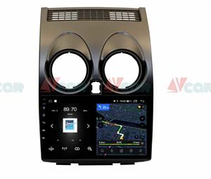 Штатная магнитола VAYCAR 09V4 для Nissan Qashqai I 2007-2013 на Android 10.0