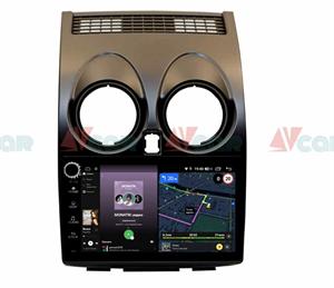 Штатная магнитола VAYCAR 09V4R для Nissan Qashqai I 2007-2013 на Android 10.0