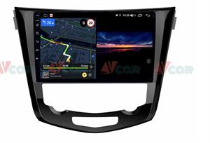 Штатная магнитола VAYCAR 10V3 для Nissan Qashqai II, X-Trail III 2014-2019 на Android 10.0