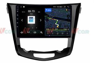 Штатная магнитола VAYCAR 10V4 для Nissan Qashqai II, X-Trail III 2014-2019 на Android 10.0