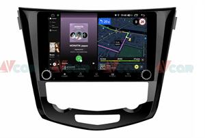Штатная магнитола VAYCAR 10V4R для Nissan Qashqai II, X-Trail III 2014-2019 на Android 10.0