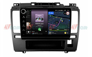 Штатная магнитола VAYCAR 09V4R для Nissan Tiida I 2004-2014 на Android 10.0