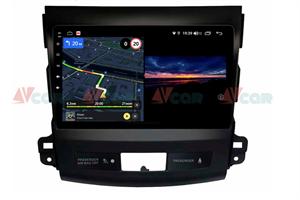 Штатная магнитола VAYCAR 09V3 для Peugeot 4007 2007-2012 на Android 10.0