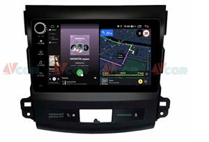 Штатная магнитола VAYCAR 09V4R для Peugeot 4007 2007-2012 на Android 10.0