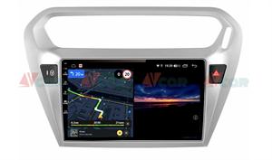 Штатная магнитола VAYCAR 09V3 для Peugeot 301 I 2012-2018 на Android 10.0