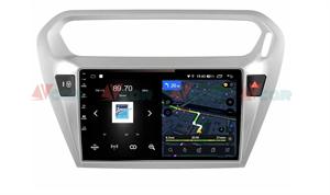 Штатная магнитола VAYCAR 09V4 для Peugeot 301 I 2012-2018 на Android 10.0