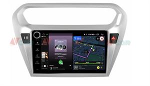 Штатная магнитола VAYCAR 09V4R для Peugeot 301 I 2012-2018 на Android 10.0