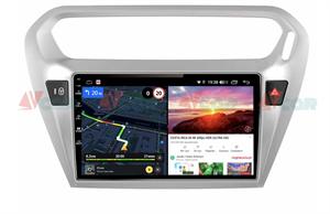 Штатная магнитола VAYCAR 09V6 для Peugeot 301 I 2012-2018 на Android 10.0