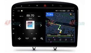 Штатная магнитола VAYCAR 09V4 для Peugeot 308 I 2007-2015, 408 2012-2017 на Android 10.0