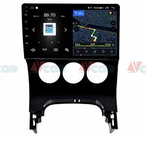 Штатная магнитола VAYCAR 09V4 для Peugeot 3008 I, 5008 I 2009-2016 на Android 10.0