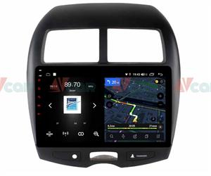 Штатная магнитола VAYCAR 10V4 для Peugeot 4008 2012-2018 на Android 10.0