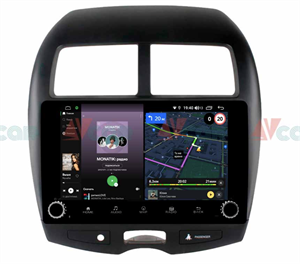 Штатная магнитола VAYCAR 10V4R для Peugeot 4008 2012-2018 на Android 10.0