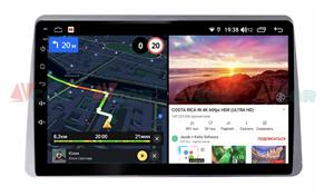 Штатная магнитола VAYCAR 10V6 для Renault Duster 2020+ на Android 10.0