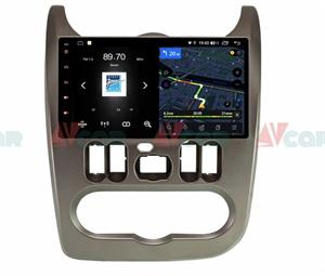 Штатная магнитола VAYCAR 09V4 для Renault Logan 2010-2013, Sandero I 2009-2014 на Android 10.0
