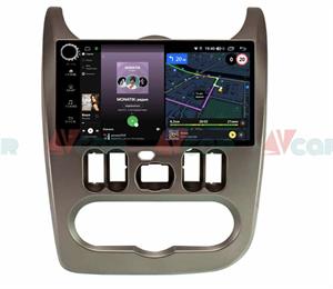 Штатная магнитола VAYCAR 09V4R для Renault Logan 2010-2013, Sandero I 2009-2014 на Android 10.0