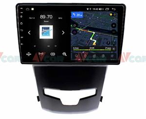 Штатная магнитола VAYCAR 09V4D 1DIN для Ssang Yong Actyon II 2013-2020 на Android 10.0