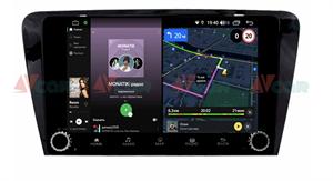Штатная магнитола VAYCAR 10V4R для Skoda Octavia III (A7) 2013-2018 на Android 10.0