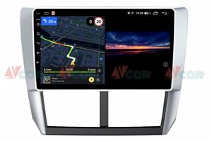 Штатная магнитола VAYCAR 09V3 для Subaru Forester III, Impreza III 2007-2013 на Android 10.0