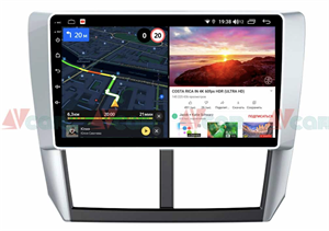 Штатная магнитола VAYCAR 09V6 для Subaru Forester III, Impreza III 2007-2013 на Android 10.0