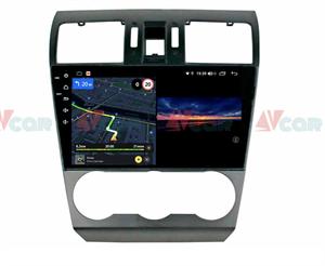 Штатная магнитола VAYCAR 09V3 для Subaru Forester IV 2013-2014, Impreza IV 2012-2017 на Android 10.0
