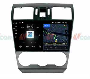 Штатная магнитола VAYCAR 09V4 для Subaru Forester IV 2013-2014, Impreza IV 2012-2017 на Android 10.0