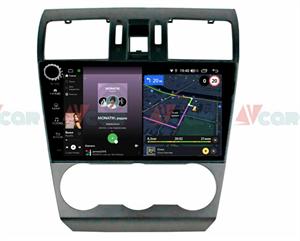 Штатная магнитола VAYCAR 09V4R для Subaru Forester IV 2013-2014, Impreza IV 2012-2017 на Android 10.0