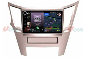 Штатная магнитола VAYCAR 09V4R для Subaru Legacy V, Outback IV 2009-2014 на Android 10.0