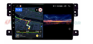 Штатная магнитола VAYCAR 09V3 для Suzuki Vitara 2005-2015 на Android 10.0