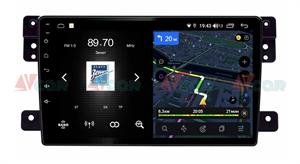 Штатная магнитола VAYCAR 09V4 для Suzuki Vitara 2005-2015 на Android 10.0