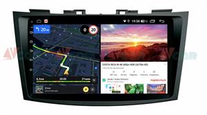 Штатная магнитола VAYCAR 09V6 для Suzuki Swift IV 2011-2017 на Android 10.0