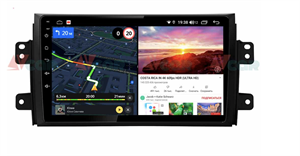 Штатная магнитола VAYCAR 09V6 для Suzuki SX4 I 2006-2014 на Android 10.0