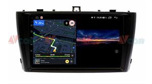Штатная магнитола VAYCAR 09V3 для Toyota Avensis III 2009-2015 на Android 10.0