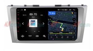 Штатная магнитола VAYCAR 09V4 для Toyota Camry V40 2006-2011 на Android 10.0