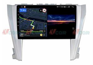 Штатная магнитола VAYCAR 10V3 для Toyota Camry V55 2014-2018 на Android 10.0
