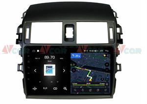 Штатная магнитола VAYCAR 09V4 для Toyota Corolla X (E140, E150) 2006-2013 на Android 10.0