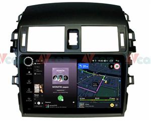 Штатная магнитола VAYCAR 09V4R для Toyota Corolla X (E140, E150) 2006-2013 на Android 10.0